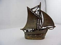 Miniatur Schiff Heiligenhafen Andenken Adelsbesitz