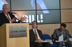 Former Tulsa Mayor Bill Lafortune recounts the genesis of the BOK Center.