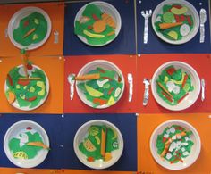 Deze waren snel klaar en ook nog eens heel erg goed. Kinderen uit groep 4 waren een uur bezig. Healthy Meals For Kids, How To Stay Healthy, Healthy Recipes, Food Crafts, Diy And Crafts, Crafts For Kids, Healthy Food Plate, Healthy Eating, Vegetable Nutrition