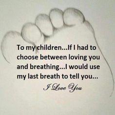 To my children.