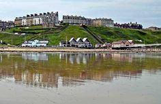 Picture of Saltburn Beach and the sea front Sea Pictures, Northern England, Seaside Towns, Grand Tour, Romantic Getaway, North Yorkshire, Cornwall, United Kingdom, Surfing