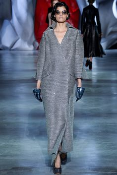 Ulyana Sergeenko Fall 2014 Couture Fashion Show - Anna Martynova