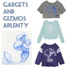 I would love a little mermaid shirt.