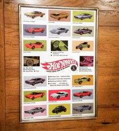 As a framing nerd I get a little rush finding a print/frame perfect match.  It's almost as good as finding a box of old frames at a yard sale.  This Hot Wheels poster fit right into this vintage silver frame.  It doesn't take much to make me happy lol.  #hotwheels #hotwheelscollectors #mattel #thesixties #diecast #diecastcars #toy #cars #fastestmetalcarsintheworld by elusivefoxart