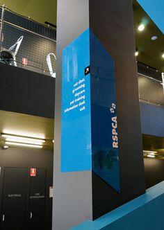 rspca headquarters,victoria–environmental graphicssignage +... - crampton d+a