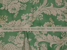 BOUNTIFUL by WINDHAM FABRICS Williamsburg 100percent Cotton Quilting Weight  Four Pieces 1 yd each. The purchase price is for ONE YARD.  This
