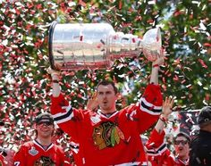 Thank you Dave Bolland for what you have done with the Hawks.  Good luck in Toronto, Rat