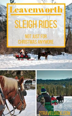 Sleigh Rides in Leavenworth, Washington are a nice way to have a chill… Leavenworth Christmas, Fort Leavenworth, Leavenworth Washington Christmas, Christmas Getaways, Christmas Travel, Christmas Christmas, Christmas Trips, Jamberry Christmas, Christmas Scenes