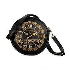uxcell® Retro Clock Watch PU Leather-based Cute Kawaii Purses Purses Shoulder Bag This bag product of PU leather-based, has good design and top quality, it Purses For Sale, Purses And Bags, Women's Bags, Cute Clock, Retro Clock, Thing 1, Shoulder Handbags, Shoulder Bags, Zipper Bags