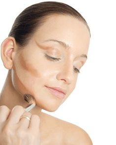 Let's look at the two golden rules that are the best ways to contour and highlight the face: coloration and location