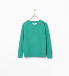 Zipped sweater-Sweaters & Cardigans-Boy-KIDS-SALE | ZARA United States