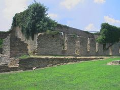1. Fort Washita was a US military post in Durant, Oklahoma. Although it has been in ruins for many years, the Oklahoma Historical Society bought the fort grounds in 1962. It is a historical site and museum open to the public. Shown below is the West Barracks building.