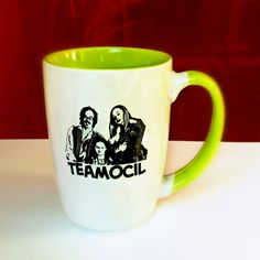 Arrested Development Tobias Fünke's Teamocil mug.. $16.00, via Etsy.