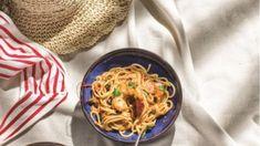 Σήμερα μαγειρεύουμε: Γαριδομακαρονάδα Spaghetti, Ethnic Recipes, Food, Essen, Meals, Yemek, Noodle, Eten