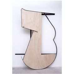 Jonathan Binet Untitled, 2015 (painted steel, wood) Binet's solo exhibition  is