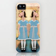 The Shining Unicorn Twins iPhone & iPod Case by That's So Unicorny - $35.00