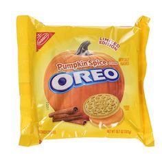 Nabisco Oreo Cookies Limited Edition Pumpkin Spice