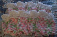 Preemie One Piece Presentation Outfit free crochet pattern