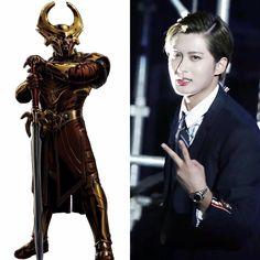 Norse Zodiac // Heimdall // Jaehyo of BlockB