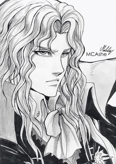 Alucard - Castlevania by MCAshe on DeviantArt Castlevania Dracula, Alucard Castlevania, Castlevania Netflix, Anime Drawings Sketches, Easy Drawings, Castlevania Wallpaper, Academic Drawing, Video Game Anime, Video Games
