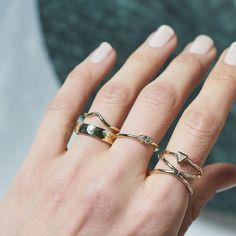 Dear Rae | Fancy Pants Diamond Ring Collection  #DearRae #DearRaeJewellery #DiamondRings #ColourDiamonds #EngagementRings