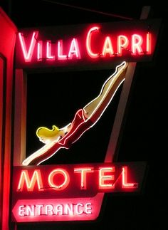 Villa Capri Motel.  Built in 1956.  Coronado, CA. Vacationed there with my parents when I was a kid. Awesome little place
