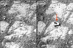 Opportunity rover discovers mysterious rock on Martian surface   I Fucking Love Science