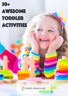 50 Awesome Toddler Games. Have fun and connect with your toddler with these great games and activities.