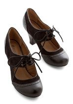 The Best of Times Heel in Black | Mod Retro Vintage Heels | ModCloth.com