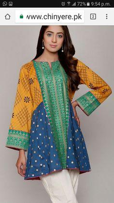 Pakistani Fashion Casual, Pakistani Dresses Casual, Pakistani Dress Design, Casual Dresses, Ethnic Fashion, Fancy Dress Design, Stylish Dress Designs, Frock Design, Indian Designer Outfits