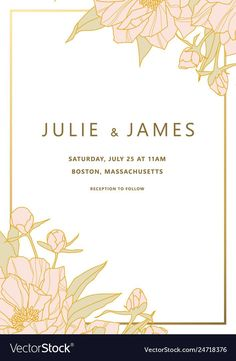 Templates for Wedding Invitation Inspirational Vintage Wedding Invitation Template Wedding Anniversary Invitations, Vintage Wedding Invitations, Elegant Wedding Invitations, Wedding Invitation Cards, Invites, Wedding Table Name Cards, Free Wedding Invitation Templates, September 8, Illustrator