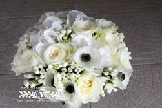 White flowers for the big day. White Flowers, Big Day, Cabbage, Vegetables, Vegetable Recipes, Veggie Food, Cabbages, Collard Greens, Veggies