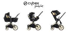Priam 婴儿车可以搭配不同摇篮变身三种形态