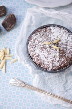 Chocolate Almond Torte: We're loving the flavor of almonds in here.