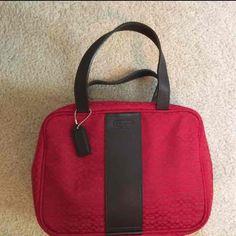 Coach Cosmetic / Travel Bag
