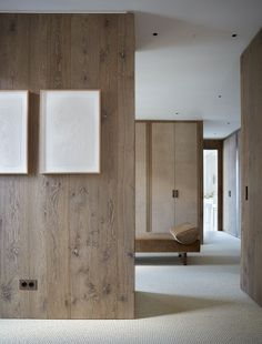 St Moritz House by Todhunter Earle St Moritz, Philip Johnson, Interior Minimalista, Raw Wood, Wood Interiors, Unfinished Wood, Wall Treatments, Contemporary Interior, Bauhaus