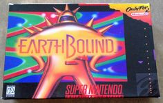 EarthBound (SNES, 1995) - Reproduction Game Cartridge w/ Custom Miniature Box  | eBay