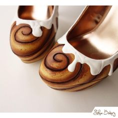 Cinnamon Bun Heels by Shoe Bakery