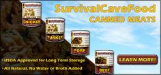 The BEST canned meat you will ever try...  #foodstorage #prepping