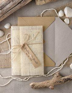 Tropical Beach Wedding Invitations 20 by forlovepolkadots on Etsy