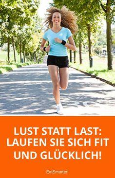 Lust statt Last: Laufen Sie sich fit und glücklich! | eatsmarter.de