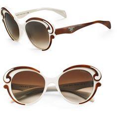 702e7cba3e83 Prada Baroque Sunglasses ( 290) ❤ liked on Polyvore