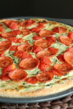 pepperoni florentine pizza