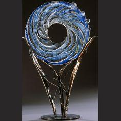 Air Sentinel, large scale glass sculpture by Susan Gott.  http://www.gottglass.com