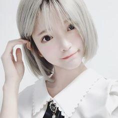 Girl Short Hair, Short Hair Cuts, Short Hair Styles, Cute Asian Girls, Cute Girls, Cute Kawaii Girl, Cute Cosplay, Japan Girl, Beautiful Asian Women