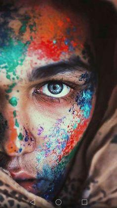 New photography artistique photoshoot eyes Ideas Paint Photography, Creative Portrait Photography, Abstract Photography, Artistic Photography, Photography Poses, Makeup Photography, Colour Gel Photography, Photography Aesthetic, Inspiring Photography