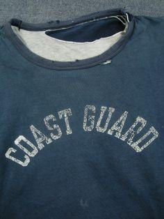 Vintage Coast Guard shirt.