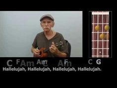 Hallelujah - Fingerstyle Ukulele with Chords & Lyrics - YouTube