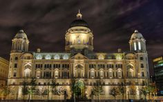 Port of Liverpool Building in HDR. Am off flickr now indefinitely. Bbye everyone and flickr!!! | Flickr - Photo Sharing!