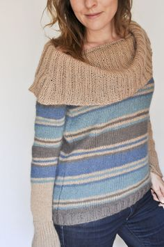 Elise fait du tricot « Made with Love  Rayures
